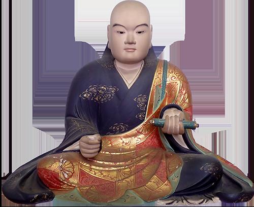 日蓮聖人像 Before
