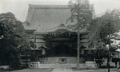 昭和6年の旧本堂